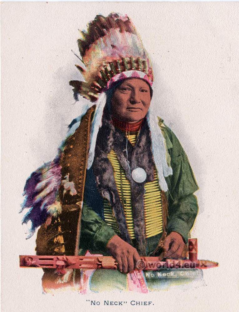 No Neck, Hunkpapa, Sioux, Indian, chief, Hunkpapa, Sioux, Eagle, feather, bonnet, U.S. Grant, peace, medal, pipe,
