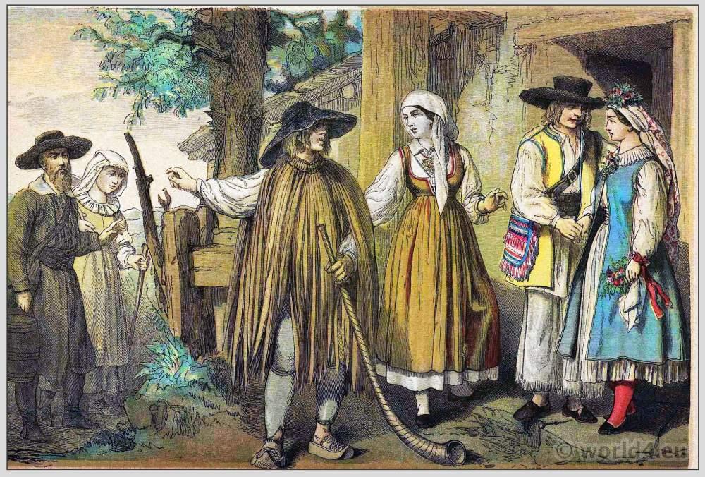Moldawia, Costumes, clothing, traditional, Habsburg monarchy