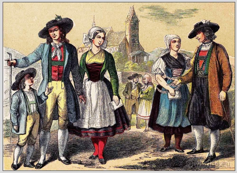 Transsylvania, Siebenbürgen, Costumes, clothing, traditional, Habsburg monarchy