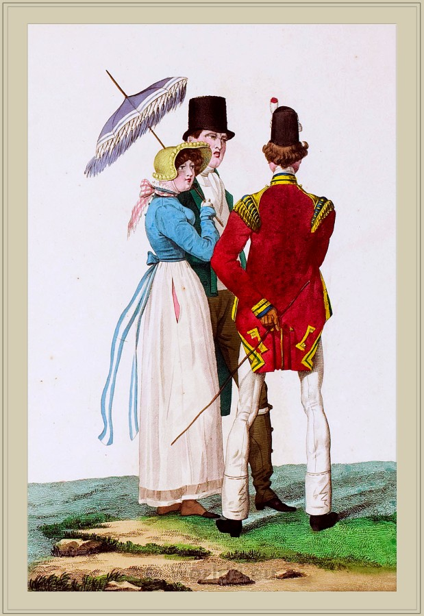 Carle Vernet, French, Incroyables, Merveilleuses costumes, Directoire,