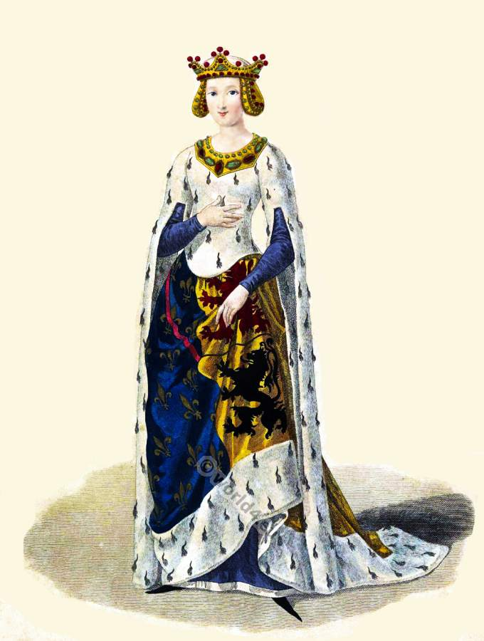 Marie de Hainaut, middle ages, fashion, history