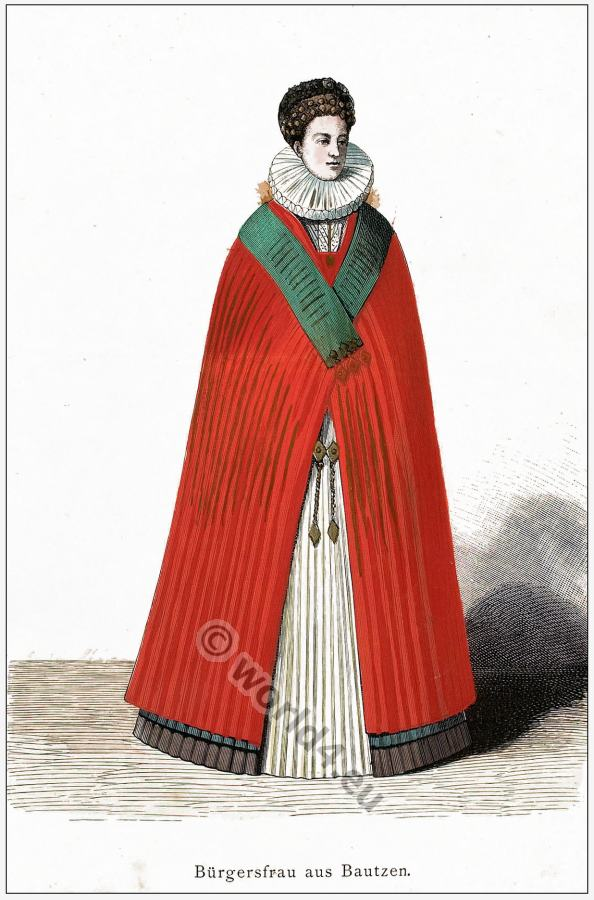 German, 16th, century, clothing, costumes, Franz Lipperheide,