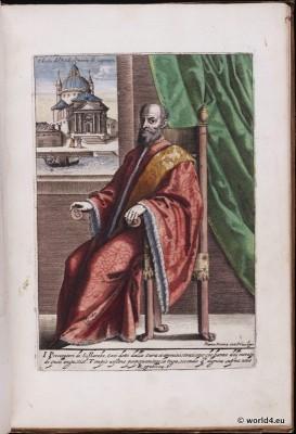 Doge, Italy, Venice, fashion history, Renaissance, Nobility