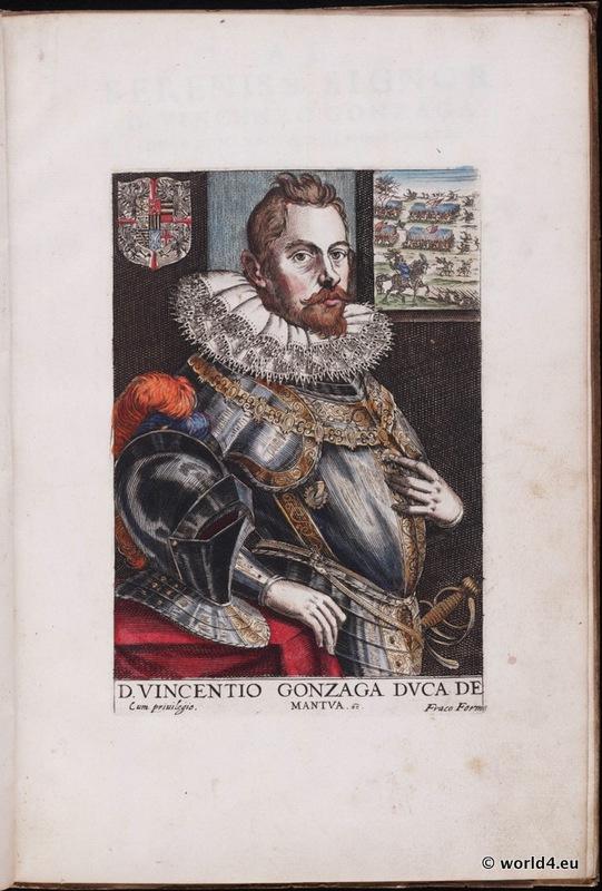 Vincentio Gonzaga, Venetian renaissance, costumes, nobility