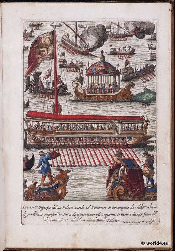 Venetian, procession, Venice, costumes, Renaissance, Nobility,