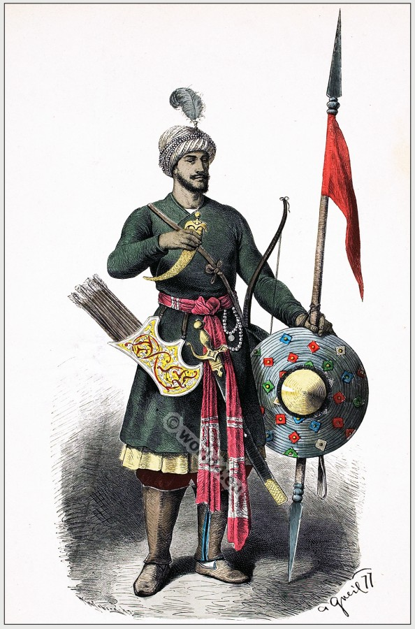 Hindu Warrior costume 15th century