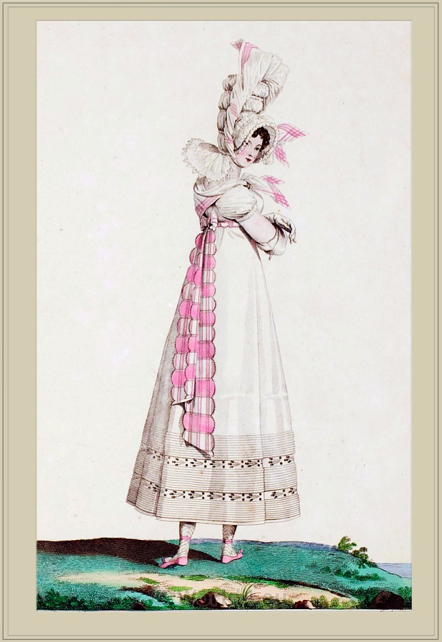 Merveilleuse, Regency, Neoclassical, fashion, costume,