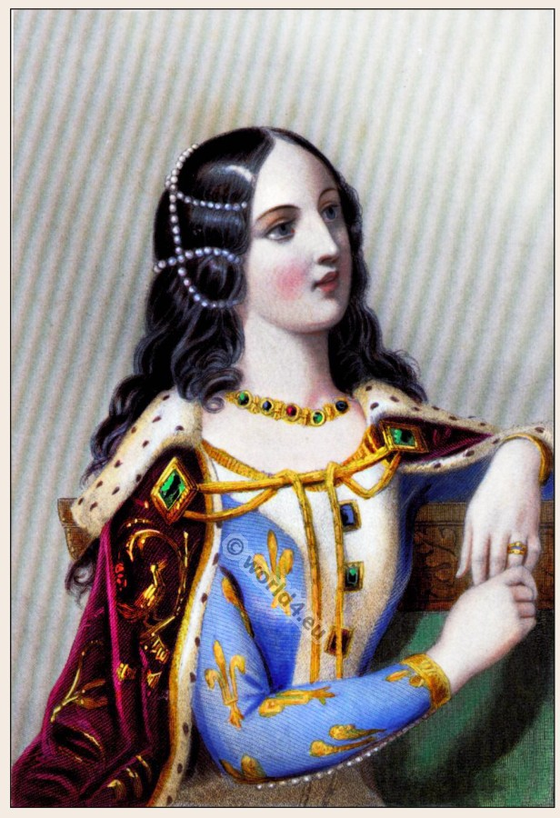 Isabella, Valois, Middle ages, queen