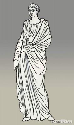 Roman, Tunica, Long-sleeved, tunic,