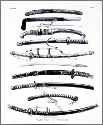 Antique Japanese Samurai Swords