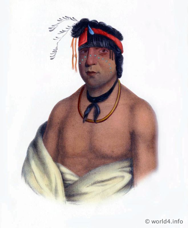 Chippeway, Chief, Natives, Native, America, Tribes, Indian, costumes