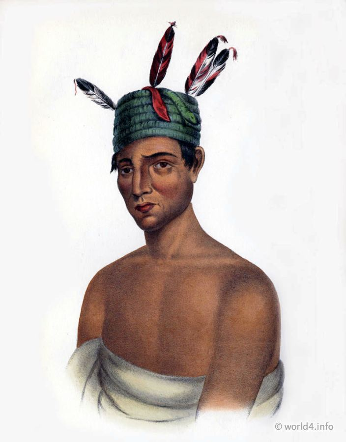 Winnebago, Chief, Natives, Native, America, Tribes, Indian, costumes