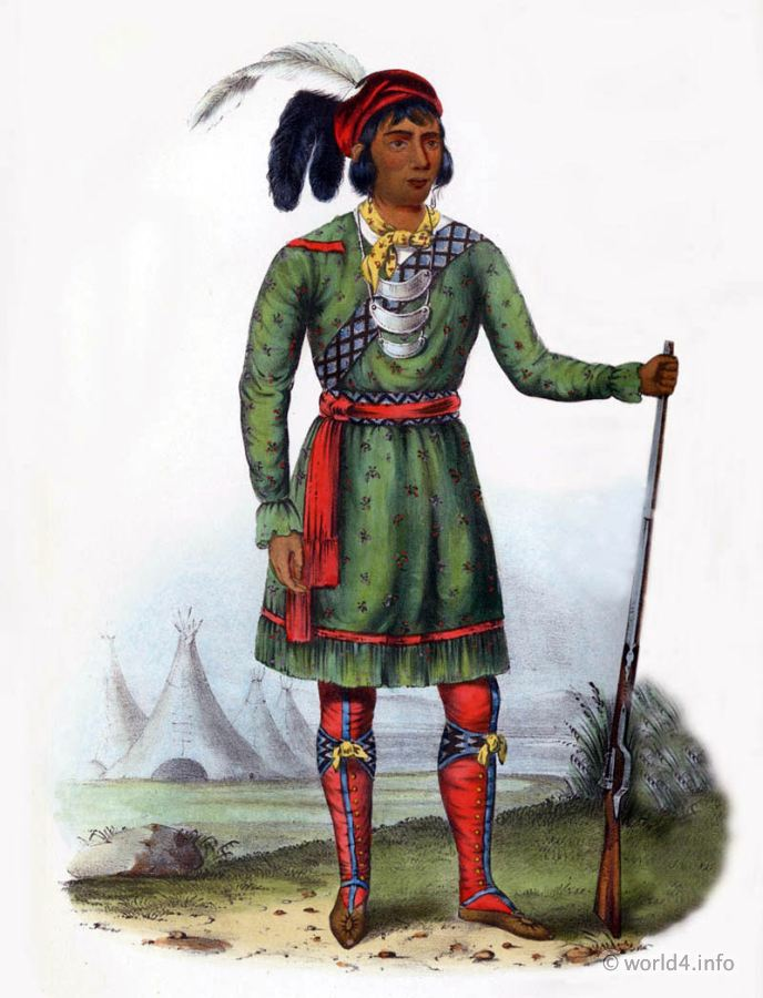 Seminole, Leader, Natives, Native, America, Tribes, Indian, costumes