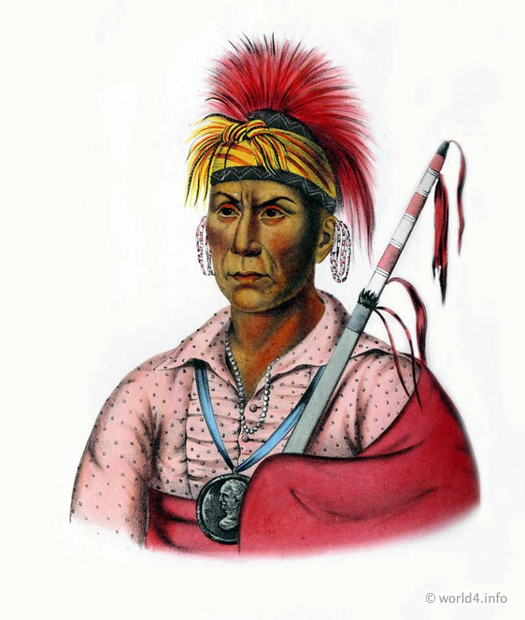 Iowa, Warrior, Natives, Native, America, Tribes, Indian, costumes