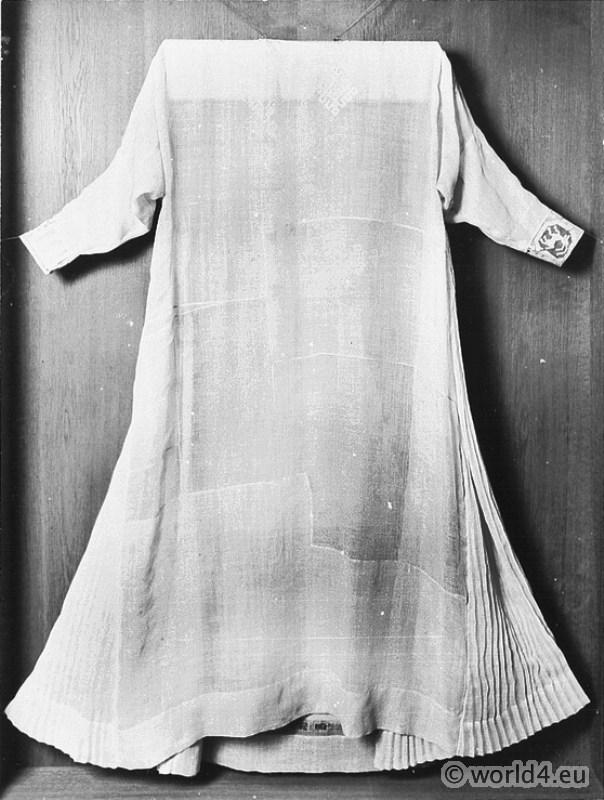 Albe, Monastic, costume, Baptism Garment, Baptismal, Robes,
