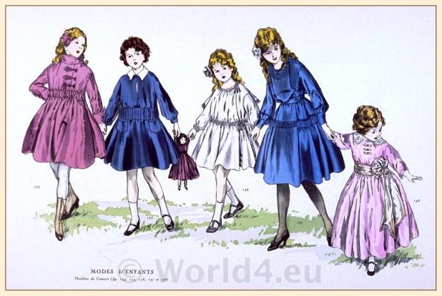 Modes D'Enfant, Fin de siècle, fashion,
