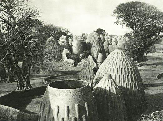 Architecture African Musgu village