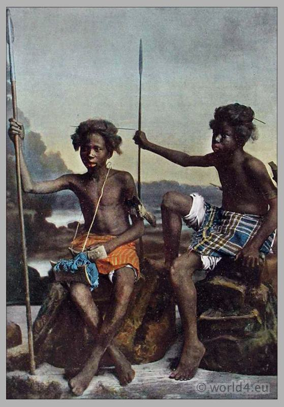 Ababda tribe, warrior, African Nomads, costumes, Traditional, weapons, dress.