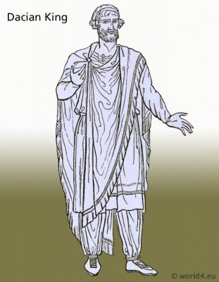 Ancient, Dacian, costume, clothing, Thracian,Historical, tunica, clothing