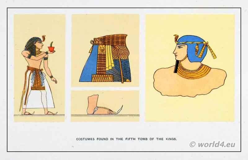 Egyptian fashion history, Egypt, Pharaoh., Blue Crown, war crown,
