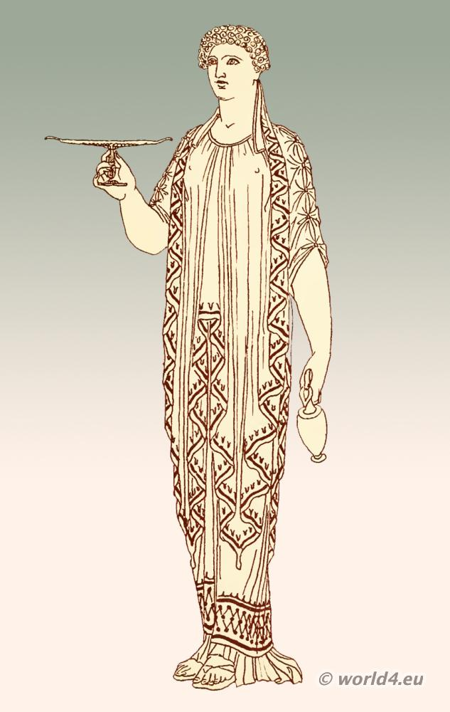 Clothing in ancient Greek