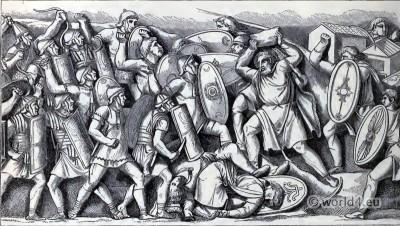 Ancient, Roman, Dacian, Battle