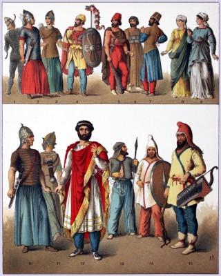 Ancient, costume, history, Sarmatians, Soythians Armour, Dacian, Fashion history