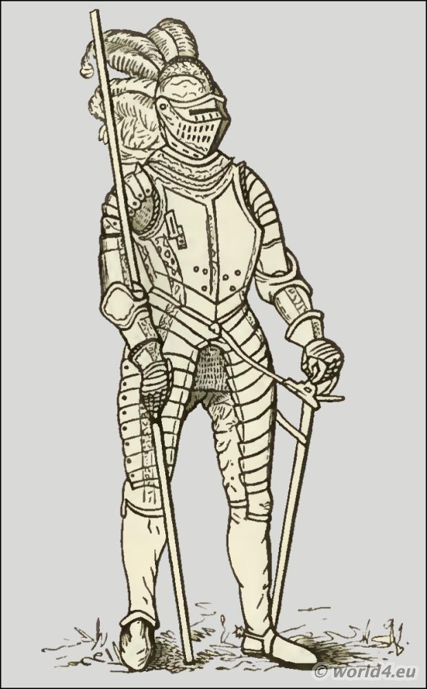 Meyrick Collection, Demi-lancer, Military, England, weapons, armour