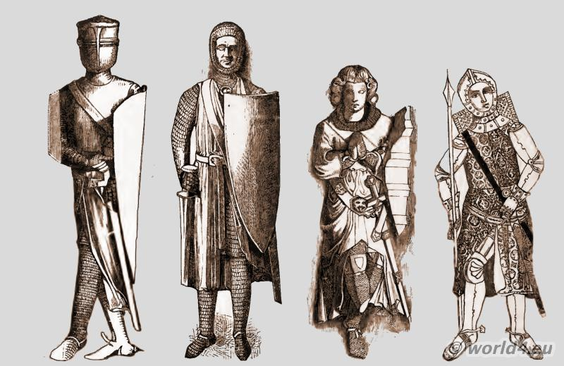 Armour, Weapons, Knights, England, Middle Ages,