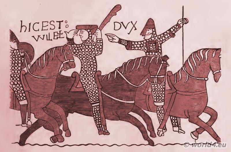 William, Conqueror, Bayeux Tapestry, Hastings, battle