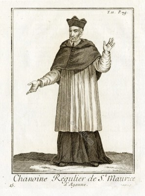 Roman Catholic Ecclesiastical Dress. Religious monk habit