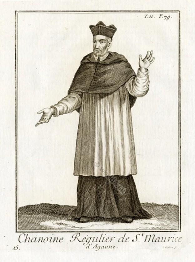 Roman Catholic Ecclesiastical Dress. Religious monk habit
