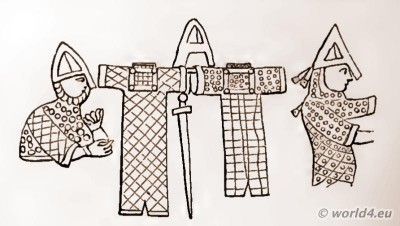 Norman, Armour, Bayeux Tapestry, Knights