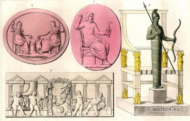 Greco, Roman, Classical, Antiquity, Statue, sculpture, gods