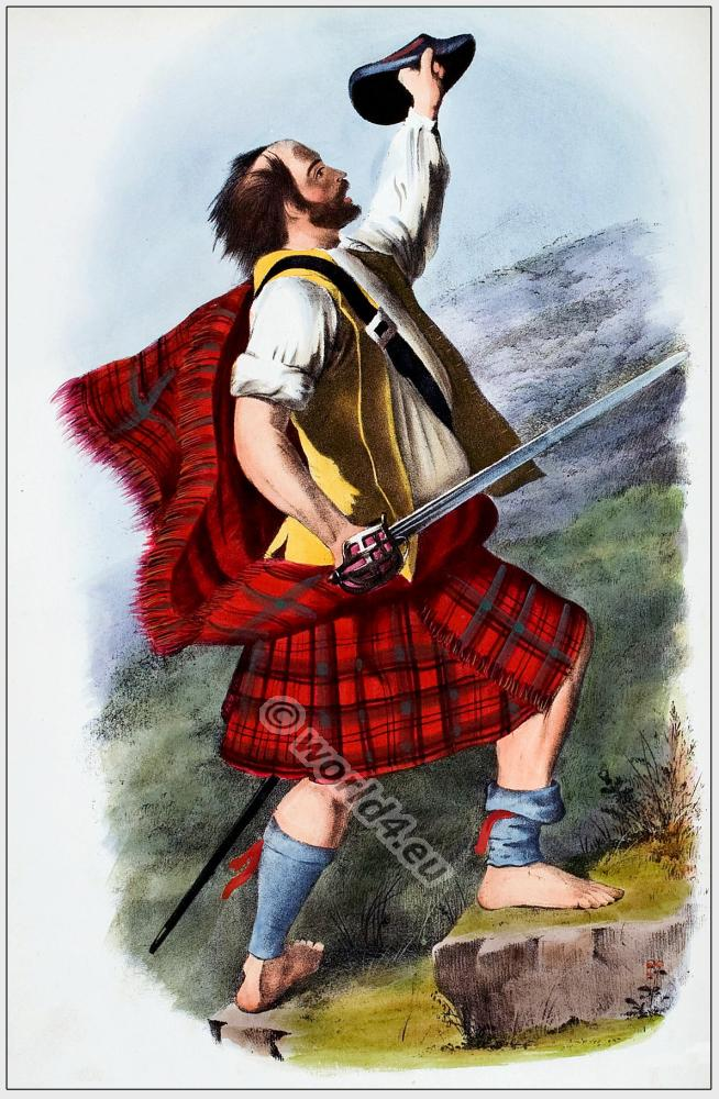 Mac Dhubhich, Mac Duffs, Clan, Scottish Highlands, kilt, tartan