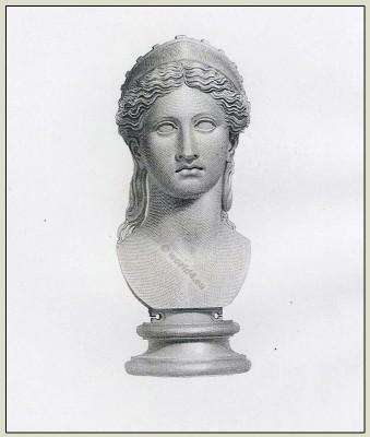 Ancient, roman, sculpture, Juno