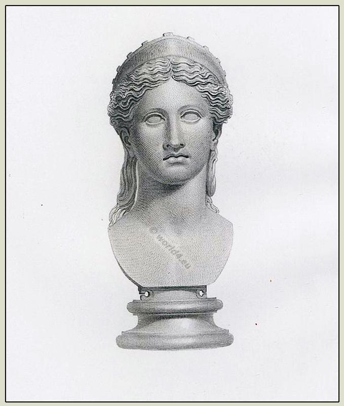 Ancient roman sculpture. Roman Juno