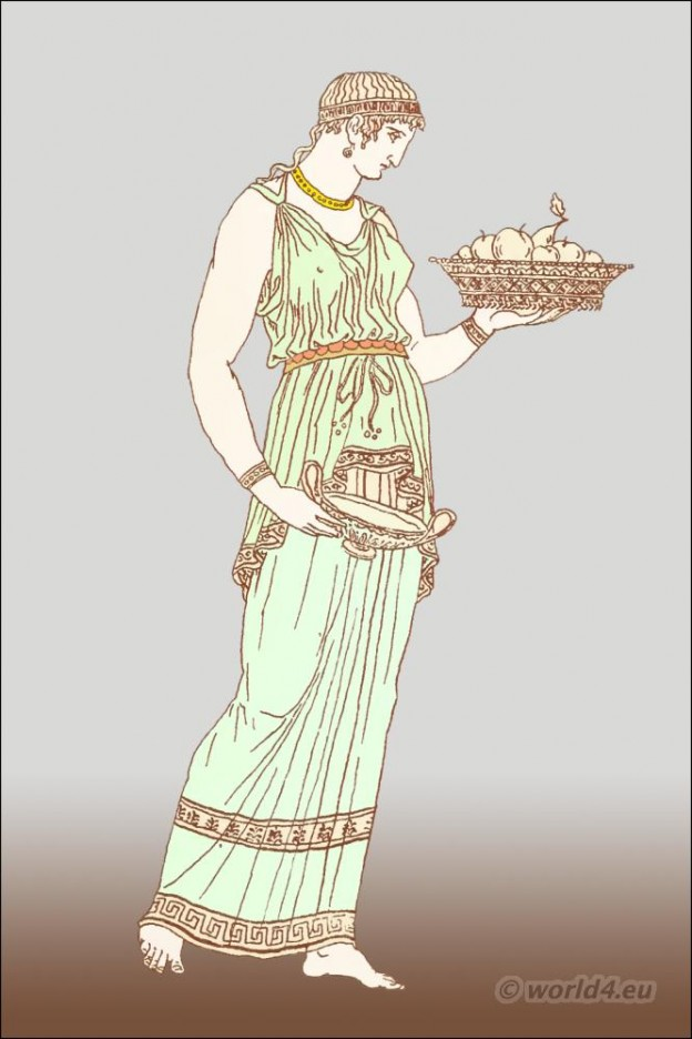 Greece, chiton Ancient, Greek, fashion, history,