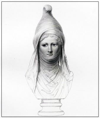 Ancient, costumes, Persian, head-dress, Cidaris,