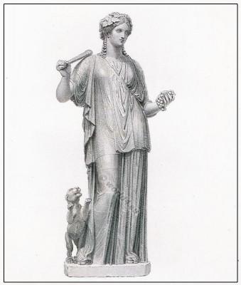 Libera, Bacchus, tunic, Ancient, Greek,