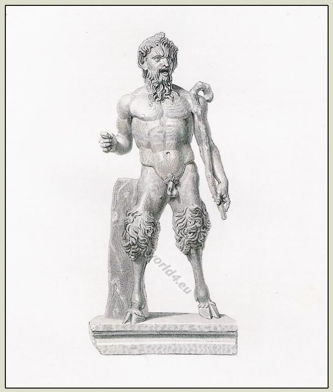 Faun, Pan, Satyr, Greek, sculpture, ancient
