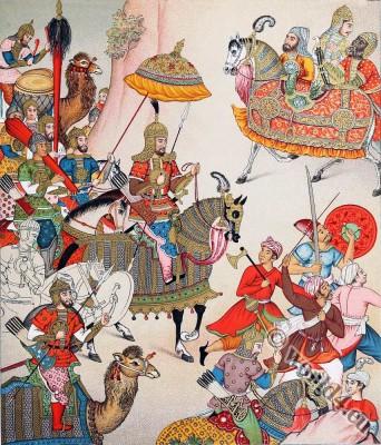 Mughal, emperor, Babur, Ẓahīr-ud-Dīn Muḥammad,India,
