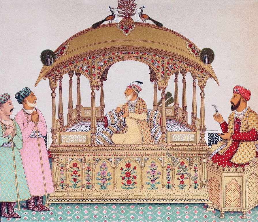 Grand Moghul, Emperor, Grand, Costumes, Auguste Razinet