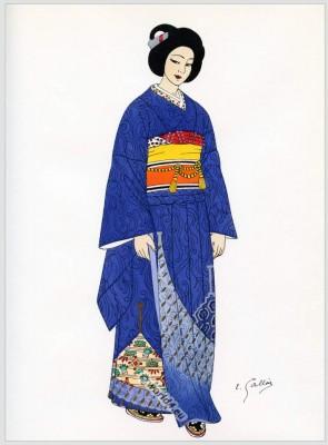 Japan, kimono, costumes, Traditional, dress,