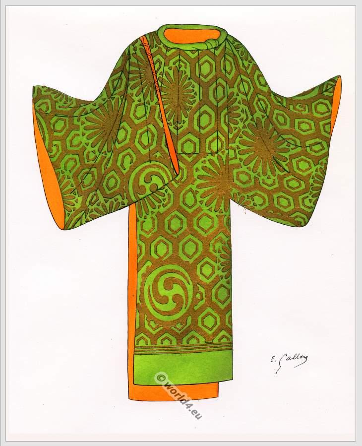 Costume, Nō, Japan, Kimono,