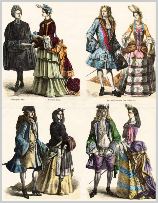 Rococo fashion. 18th century nobility and court costumes. Kostümbildner, Film und Theater Kostüme, Rokoko Mode Recherche