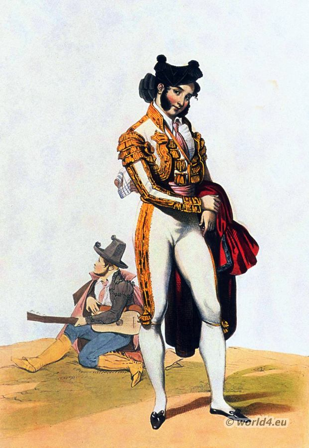 Spanish Torero bullfighting costume. Bolero Jacket.