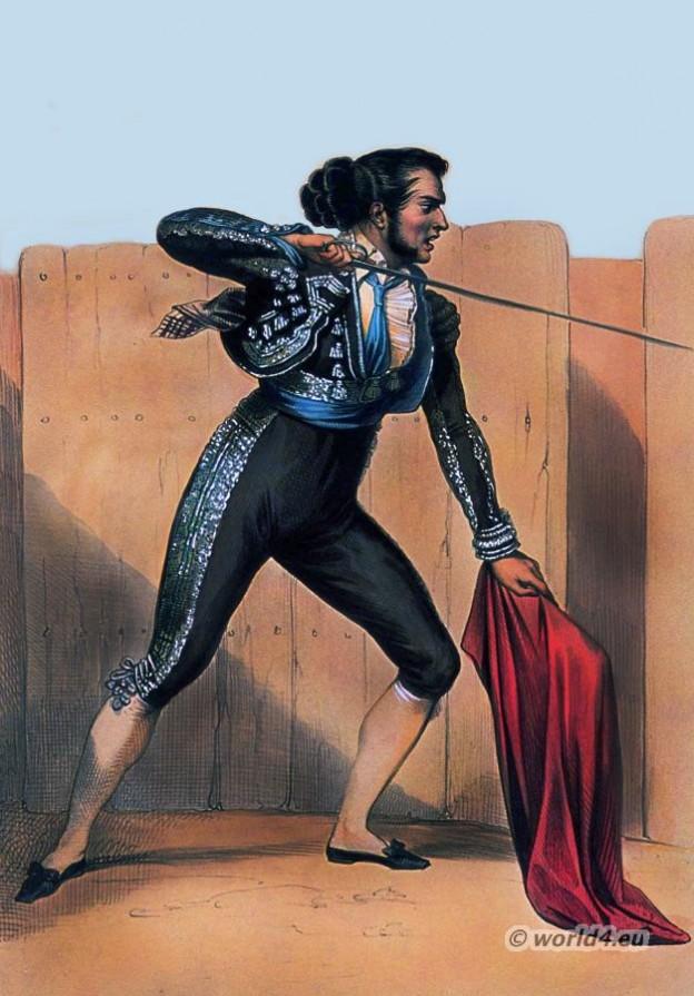 Spain Torero costume. Bolero Jacket. Spain national costumes. Bullfighting dress