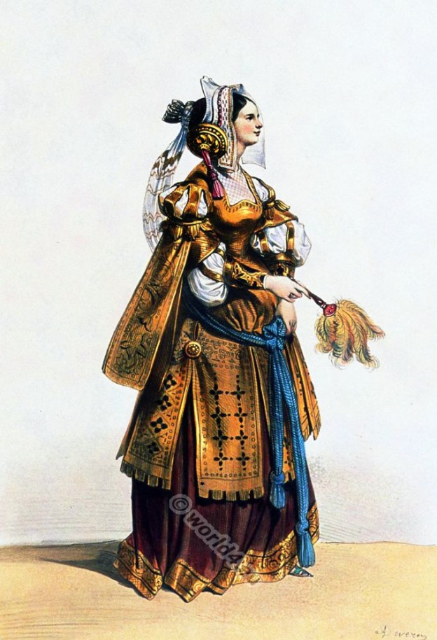 Dame de Liège fifteenth century