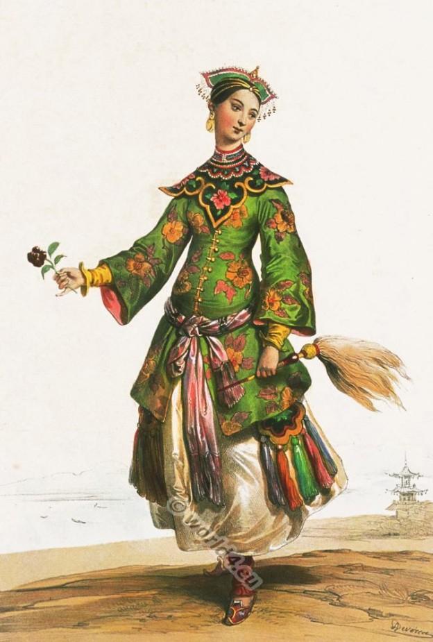 Dame Chinoise costume